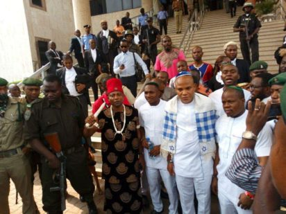 Court grants N40m bail to Kanu's co-defendants Read more atCourt grants N40m bail to Kanu'sdefendants