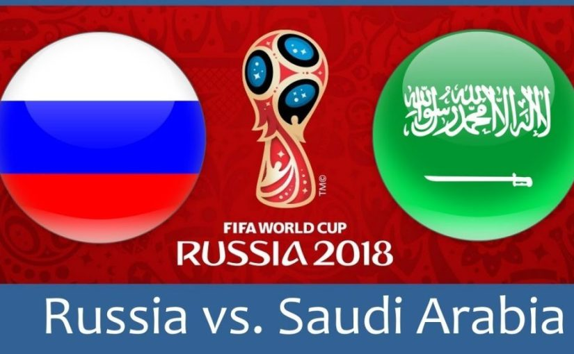 Predict Correct Score and WIN #1000 Recharge of your choice.   World Cup! Russia Vs Saudi Arabia On Date 14/06 /2018, (Thursday)