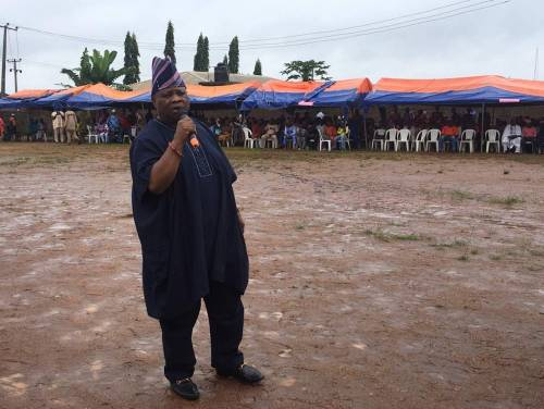 BREAKING NEWS : APC In big Trouble as the Dancing Senator' Ademola Adeleke Emerges Osun PDP Governorship Candidate