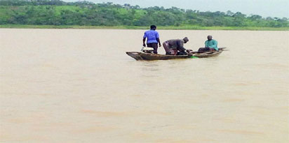 About five people were feared dead after a boat capsized in Lagos on Wednesdayevening