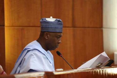 For me, I leave all that behind me. Today, I start as I return to the party where I began my political journey, the Peoples Democratic Party (PDP)-Sen Bukola Saraki