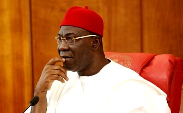 BREAKING NEWS : Deputy Senate President Ekweremadu in EFCC custody
