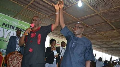 FLASHBACK: In 2014, Fayose Vowed: 'My Deputy And I Will Pack Our Load Out Of Govt HouseTogether'