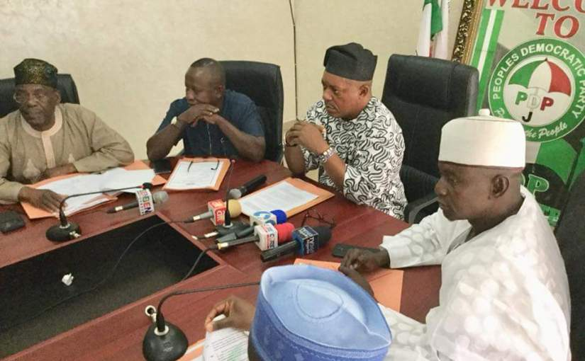 Ekiti: Democracy Under Attack In Nigeria by The National Working Committee of the Peoples Democratic Party(PDP)