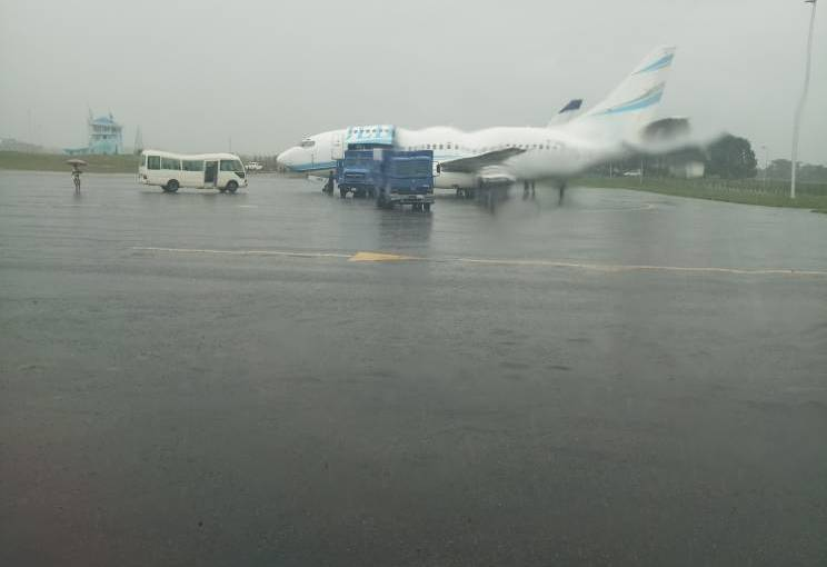 Ekiti Election: FG's movement of N18bn cash through Akure Airport exposed with PictorialEvidence