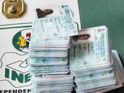 Breaking News:NIS Recovers 436 Voter Cards, 192 National ID Cards FromForeigners