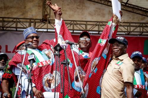 Breaking News : Fayemi wins Ekiti election with with thunderous197,462