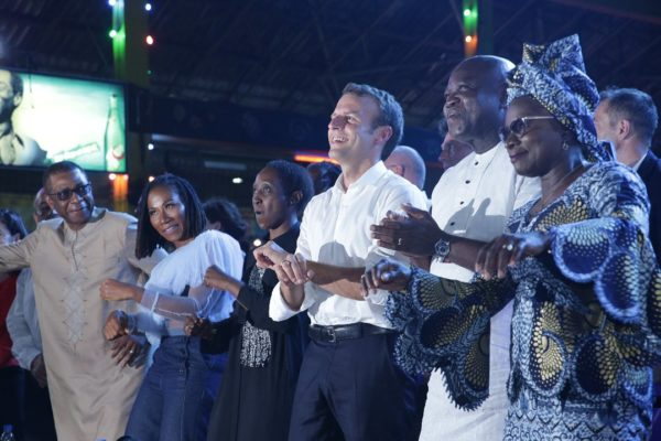 French President, Macron Advocates Nigerian Youths To JoinPolitics