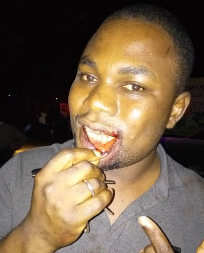 "A security and politics Correspondent with Vanguard Newspapers was Friday night assaulted by a ""soldier"" at Abuja"