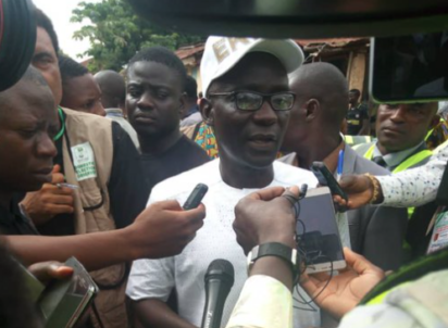 Breaking: Eventually Prof Kolapo, PDP's candidate cast his vote