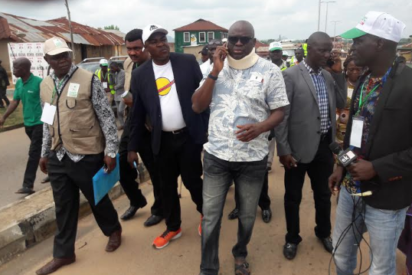"My chief of staff and most of my staffs  has been arreste-""Gov Fayose"
