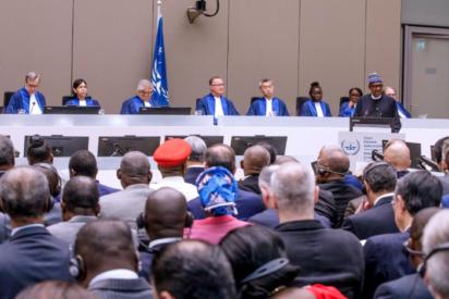 President Muhammadu Buhari's  18 Special  Keynote Address at International Criminal Court atNetherland