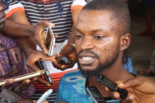 BREAKING NEWS : The Killer  Of Former Ondo Deputy Gov's Daughter Handcuffed ToCourt