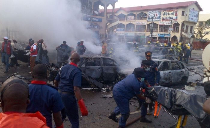 Breaking News :Not less than Ten were killed by Suicide Bombers earlier morning Today atBorno