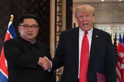 North Korea's Kim writes U.S. President Trump And Aknownledge Their First  Historical l Meeting