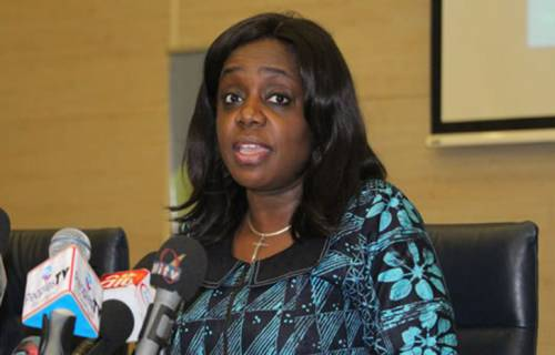 Breaking News:Kemi adeosun resigns as finance minister