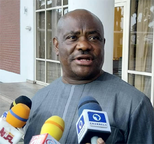 GOV Wike sympathize with Dickson on mother's demise