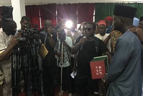 Man Who Trekked From Lagos To Abuja Against Buhari Joins PDP