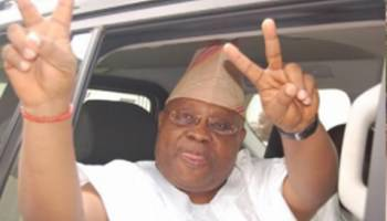 Osun Election Rerun :This Is 'Coup' Not Election Ongoing In Osun – Adeleke