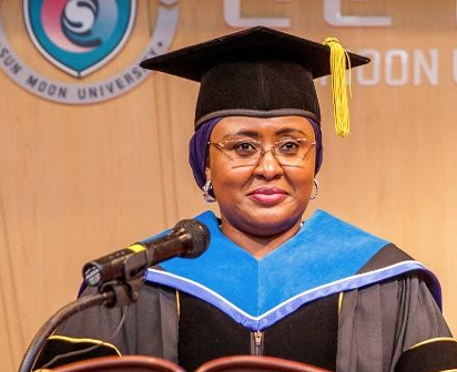 I Don't Know My ADC Uses His Position To  Defraud  Unsuspecting  Officials– Aisha Buhari