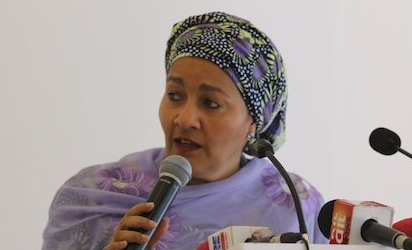 DR Ngozi Okonjo-Iweala Liberated Nigeria From Debt ,But  We'Re Now Back  There —Amina Mohammed