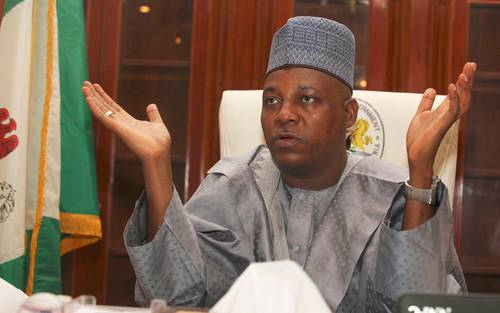 Kassim Shettima, Governor Of  Borno State,Dissolved  State  Executive Council .