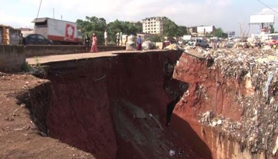 Gully Erosion :About 15 Fear Dead At Anambra state