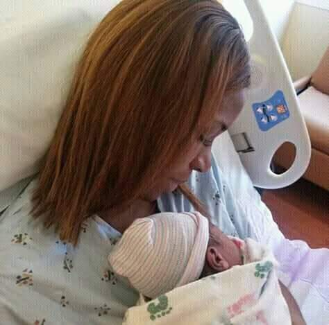One Of Nigeria's  Leading  Bloggers , Linda Ikeji Has  Given Birth To A Baby Boy