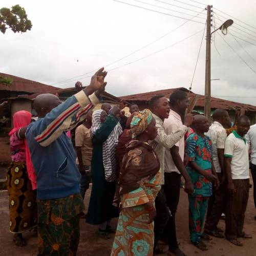 APC Thugs' Armed With Guns, Cutlasses Invaded Voting Arena And Snatches  Ifon Residents' PVCs