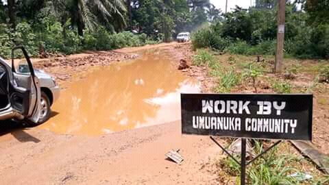 Nnewi And The  Depth Of Poor Road  Infrastructure.By Ebubechukwuzuloke Brown