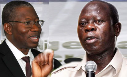 Former President, Goodluck Jonathan Condemns  Oshiomhole Over  Vote BuyingAllegations