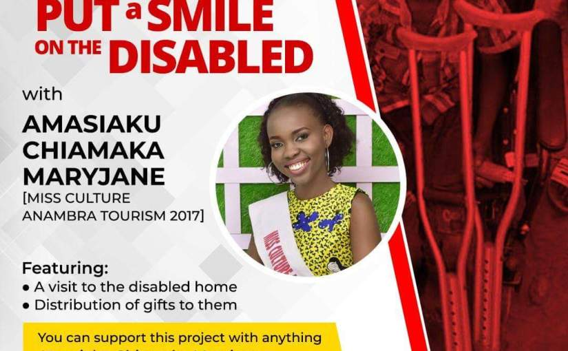 Miss Culture Anambra Tourism Putting Smiles To The  Face Of The Less Privileges