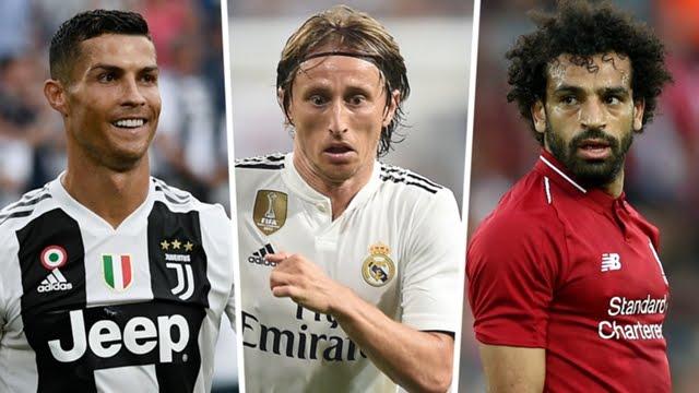 Breaking News :FIFA The Best Men's Player of the Year award, Ronaldo, Modric & SalahNominated