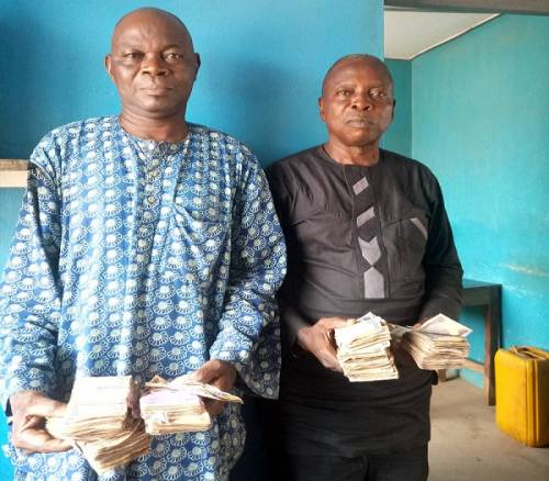 Two Vote Buyers Arrested With N604,000 In Osun