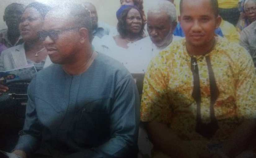 2019: Peter Obi meets EU and World Economic Forum And Discussed About   free and fair elections