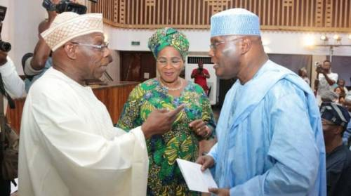 Finally : Obasanjo Endorses Atiku
