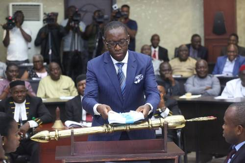 Okowa Presents N367bn 'Budget of Sustainable Growth' For 2019