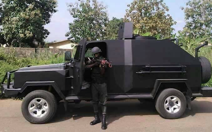 Innoson to construct armoured vehicles for Police