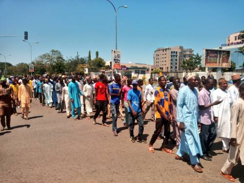 The Nigeria Police Force Have  Confirmed  The  Arrest  of 400 Shi'ites.