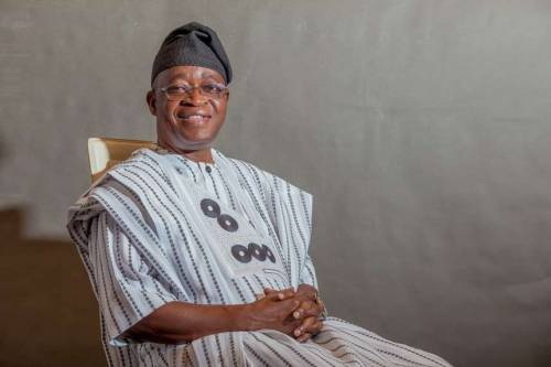 Breaking News:Oyetola Sworn In As OsunGovernor
