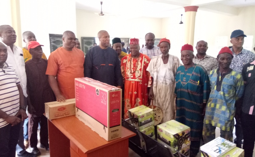 A Touching Act Of Fondness As Hon Lawrence Ezeudu Furnished NAWGU Civic Center(Pictures/Videos)