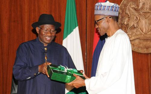 Jonathan An Inspiration To Every Young Nigerian, Says Buhari