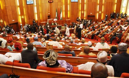 Senate Adjourns Plenary For APU Conference