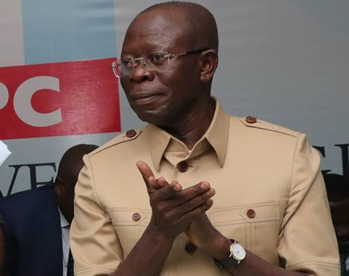 Oshiomhole:It Will Be Strange For APC To Have 'Graveyard' Peace.