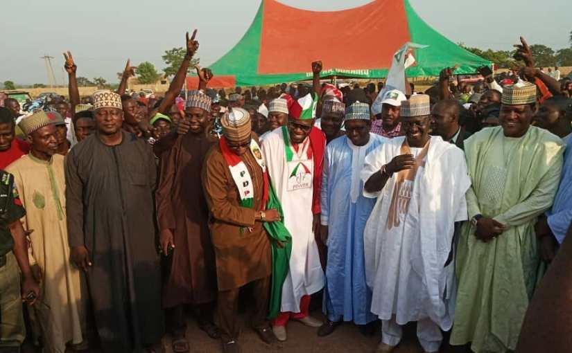Breaking News:Nasarawa State Deputy Dumped  APC To PDP(Photos)