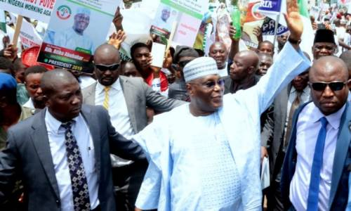 JUST IN: 34 Political Parties Adopt Atiku As Presidential Candidate.
