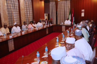 Breaking News:Buhari Chairs Special FEC Meeting