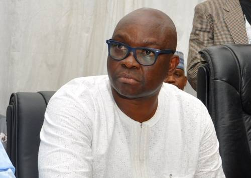 Breaking News:Fayose 'Involved In Accident' On Third Mainland Bridge