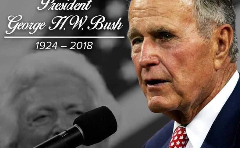 Breaking News:Former U.S President George Bush Dies At94