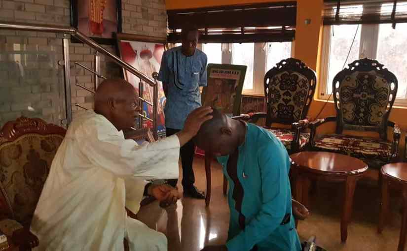 Igwe Nnewi Prays For Smart, Congratulates Him On Election Victory